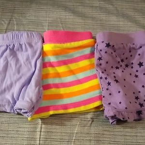3 pairs of 12 month shorts for girls
